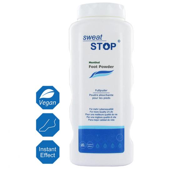 SweatStop® Menthol Foot Powder 100g
