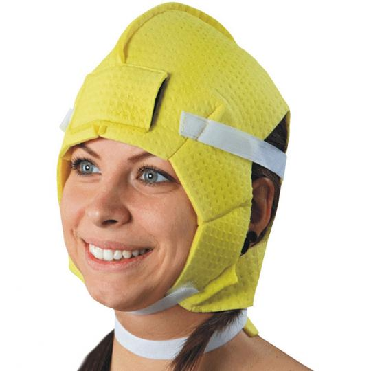 Head & Neck Electrode Against Sweating on the Scalp, Forehead and Neck